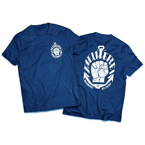 T-Shirt Meuterei [blau]