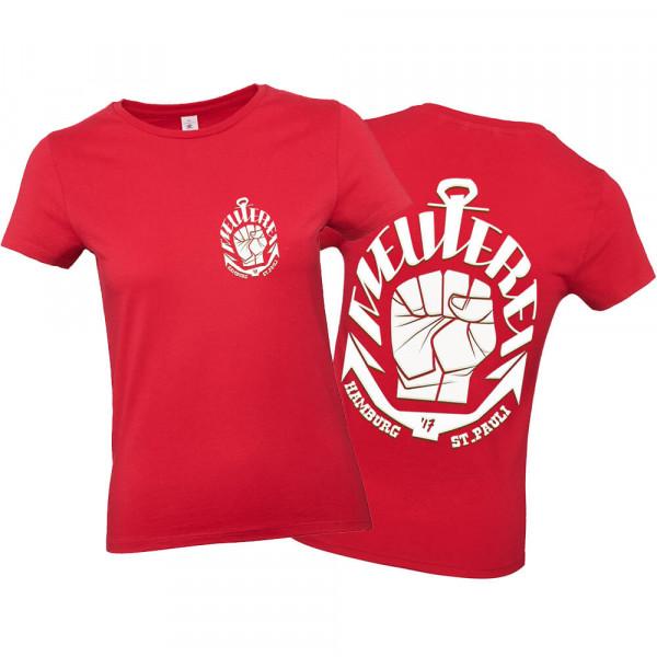 T-Shirt Meuterei Girl [rot]