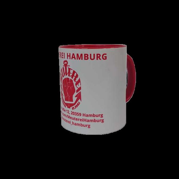 Meuterei Sammel-Tasse [weiß/rot]