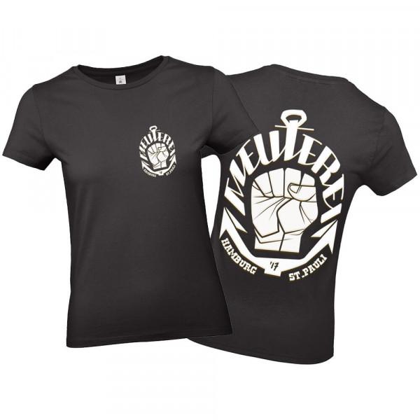 T-Shirt Meuterei Girl [schwarz]