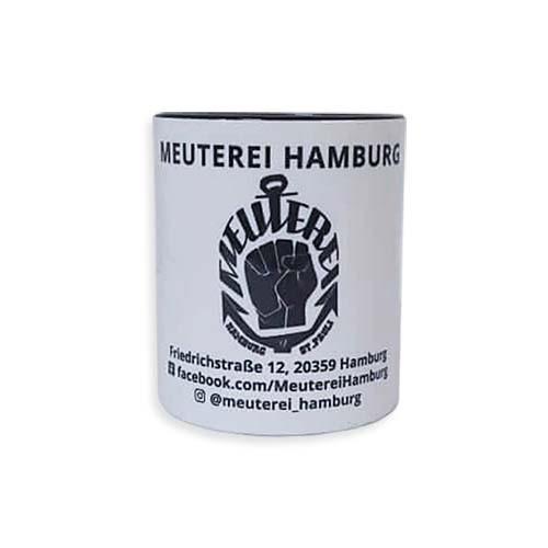 Meuterei Sammel-Tasse [weiß/schwarz]